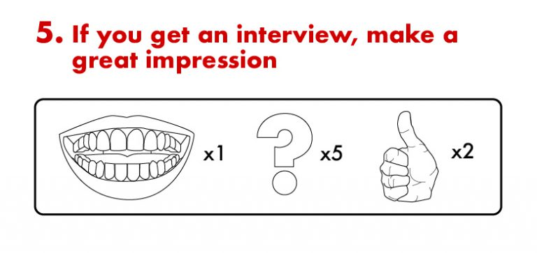 Step 5: Make a Great Impression