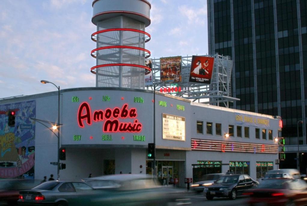 Amoeba Music storefront
