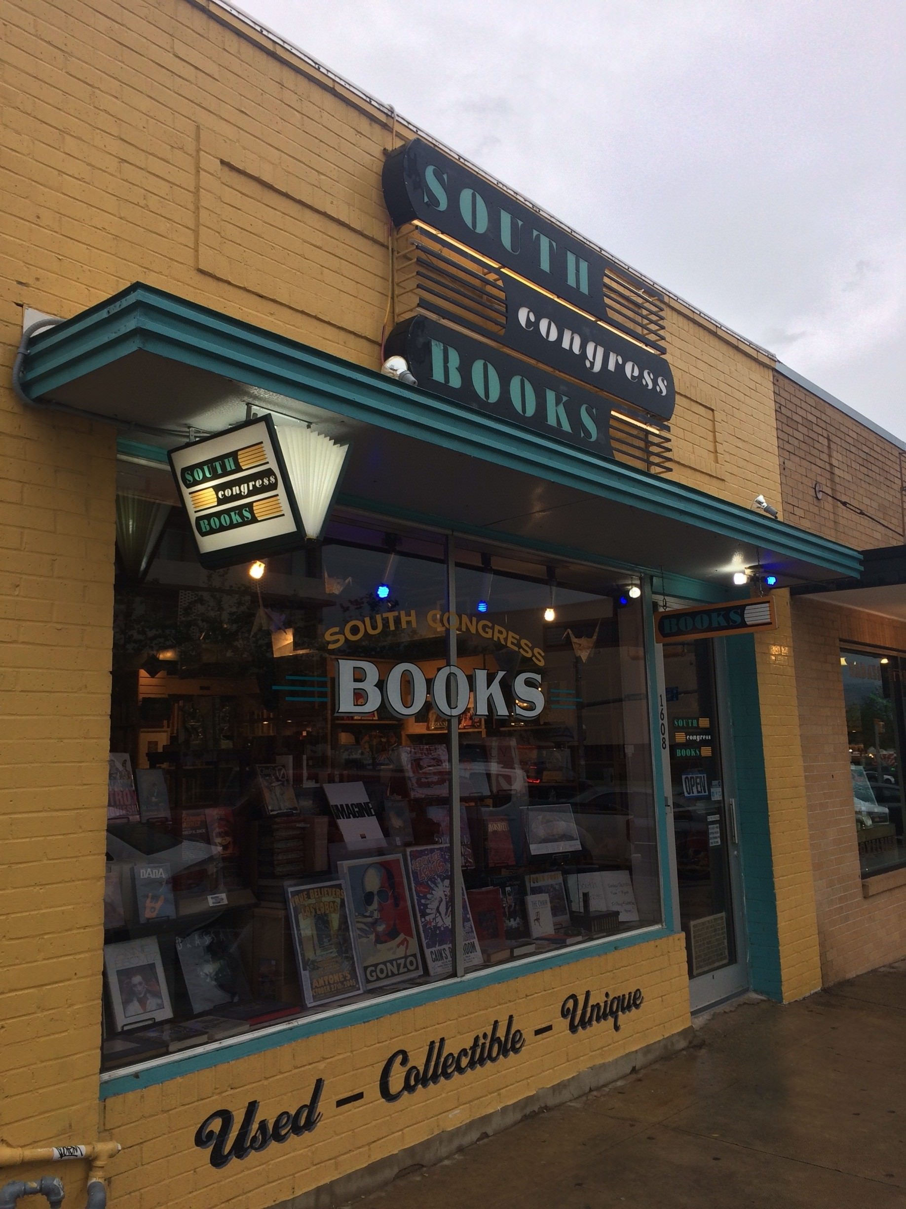 south congress book shop in austin, tx